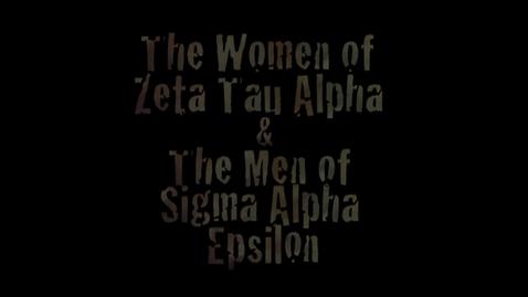 Thumbnail for entry Freshman Follies 2013: Zeta Tau Alpha/Sigma Alpha Epsilon