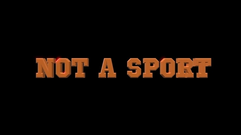 Thumbnail for entry DOCUMENTARY:  Not A Sport