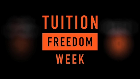 Thumbnail for entry Tuition Freedom Week Video