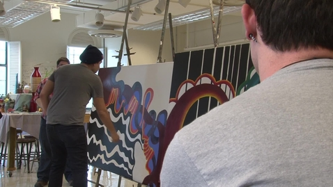 Thumbnail for entry PREVIEW:  Live Painting With Yatika Fields