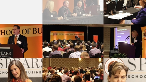 Thumbnail for entry Spears Business Accounting Conferences - Center for Executive and Professional Development