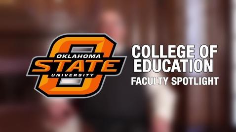 Thumbnail for entry Faculty Spotlight - Dr. Matt Vance