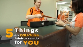 Thumbnail for entry 5 Things an OSU-Tulsa Academic Counselor Can Do For You
