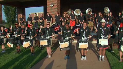 Thumbnail for entry OSU Cowboy Marching Band Greets Students on Move-In Day