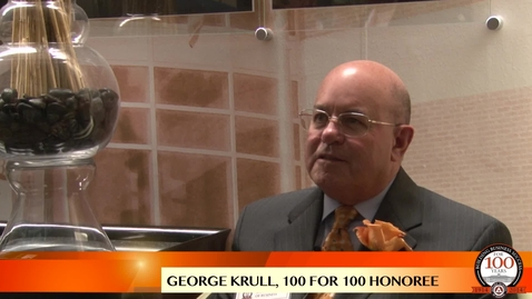 Thumbnail for entry George Krull - 100 For 100 Honoree