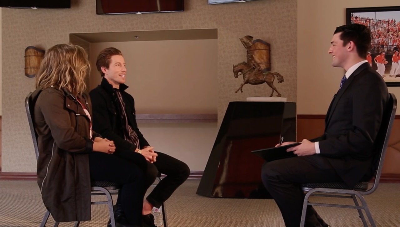 One-On-One With Shawn Johnson and Shaun White