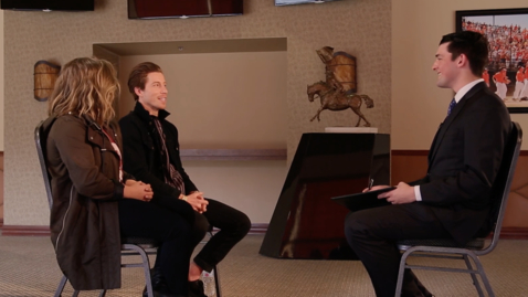 Thumbnail for entry One-On-One With Shawn Johnson and Shaun White