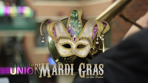Thumbnail for entry Mardi Gras at the Student Union 2015