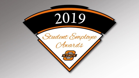 Thumbnail for entry 2019 Student Employee Awards Ceremony