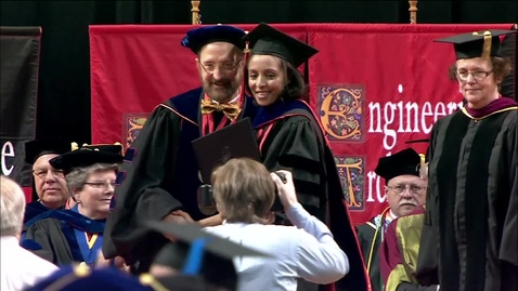 Thumbnail for entry Spring 2013 Graduate College Commencement:  Masters Candidates