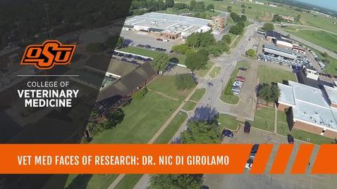 Thumbnail for entry Vet Med Faces of Research: Dr. Nicola Di Girolamo