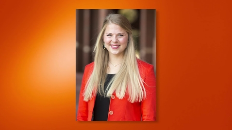 Thumbnail for entry 2017 Outstanding Senior: Addison Friener