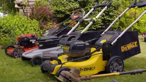 Thumbnail for entry Electric vs Gas Mowers
