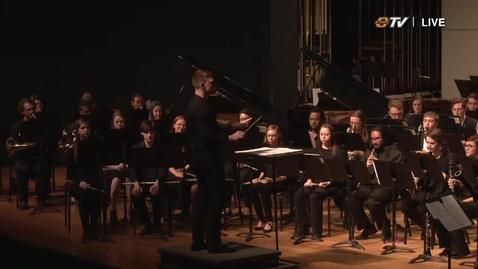 Thumbnail for entry REBROADCAST: OSU Symphonic & Concert Bands Concert