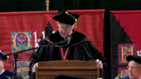 Thumbnail for entry Spring 2013 Commencement:  College of Engineering, Architecture & Technology