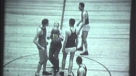 Thumbnail for entry ARCHIVES:  Bob Kurland Playing Basketball in 1945