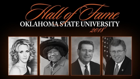 Thumbnail for entry 2018 OSU Hall of Fame Induction Ceremony