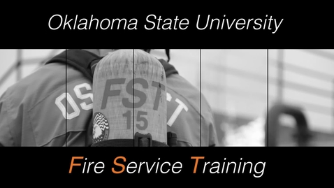 Thumbnail for entry OSU Fire Service Training