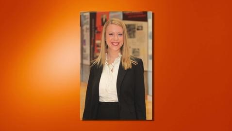 Thumbnail for entry Sara Fevurly - 2013 Outstanding Senior