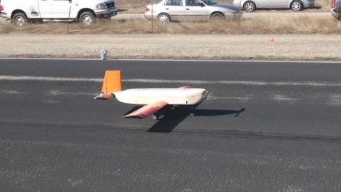"""Thumbnail for entry Aerospace Design: 2010 Team Orange """"Shredder"""" - First Flight"""