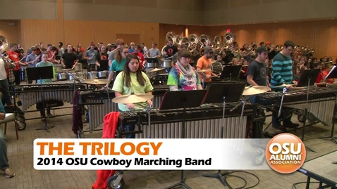 Thumbnail for entry Cowboy Marching Band Performs the Trilogy