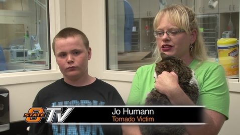 Thumbnail for entry Tornado Victims Find Family Cat After Six Days