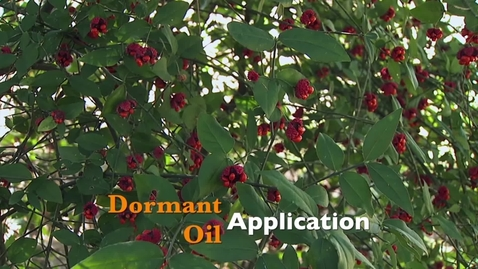 Thumbnail for entry Oklahoma Gardening: Dormant Oil Application