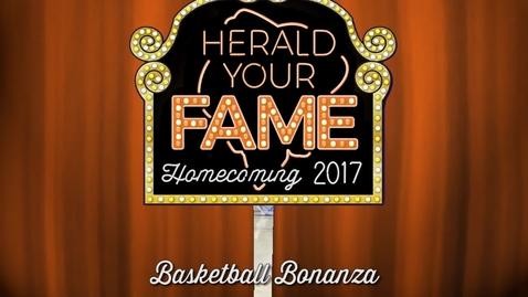 Thumbnail for entry Homecoming 2017: Basketball Bonanza