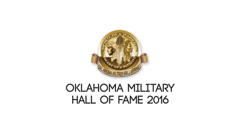 Thumbnail for entry OSU ROTC Attends Oklahoma Military Hall of Fame 2016