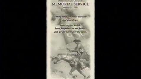 Thumbnail for entry ARCHIVES:  Remember the 10 Memorial Service from January 31, 2001