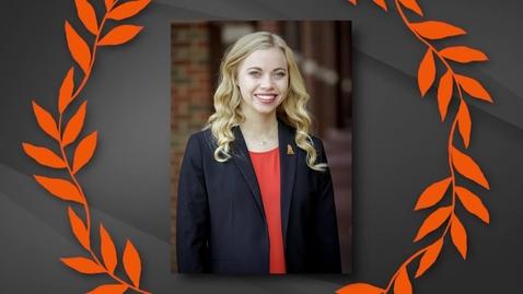 Thumbnail for entry Rebecca Lane - 2019 OSU Outstanding Senior