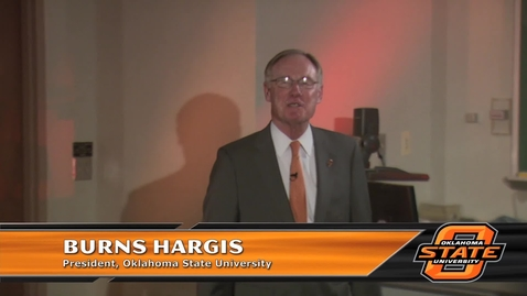 Thumbnail for entry Welcome Message from President Hargis
