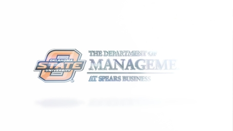 Thumbnail for entry The Management Department at Spears Business