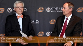 Thumbnail for entry Dean Eastman Interviews General Keith Alexander