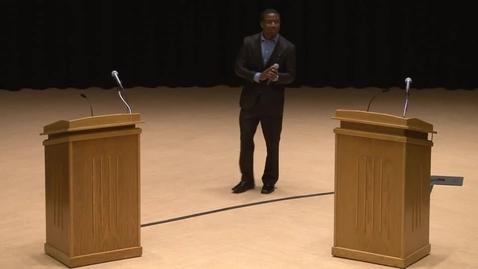 Thumbnail for entry SGA Presidential Debate 2-28-13