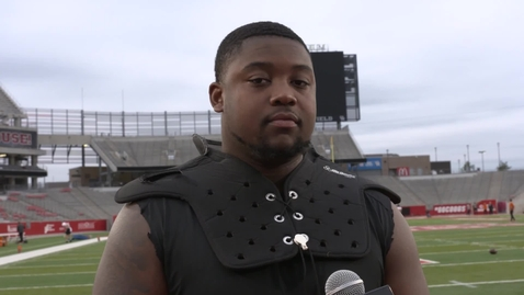 Thumbnail for entry Academy Texas Bowl Preview:  Cameron Murray Speaks to the Media