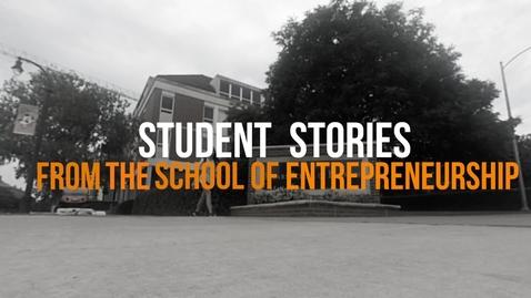 Thumbnail for entry Student Stories from the School of Entrepreneurship - Ashley Shannon