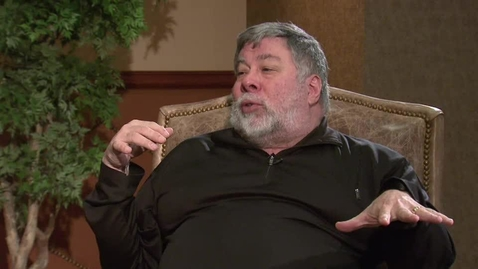 Thumbnail for entry Inside OSU:  Extended Interview with Steve Wozniak