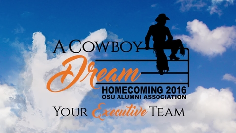 Thumbnail for entry Homecoming 2016: Meet the Executive Team