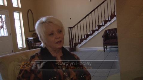 Thumbnail for entry Meet Carolyn Hooley, Phi Mu House Mom