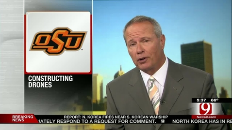 Thumbnail for entry IN THE NEWS:  OSU Constructing UAVs For Rescue And Recovery