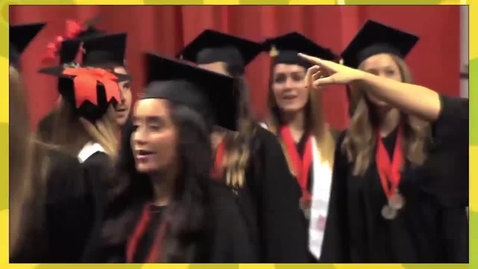 Thumbnail for entry Fall 2017 Commencement:  College of Education, Health & Aviation, College of Agricultural Sciences & Natural Resources and the College of Arts & Sciences