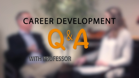 Thumbnail for entry Eastin Center Q&A - When to Take Your Dream Job