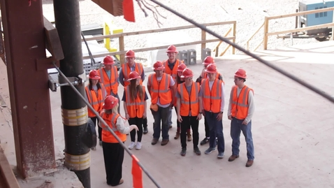 Thumbnail for entry BSC Students Explore New Business Building