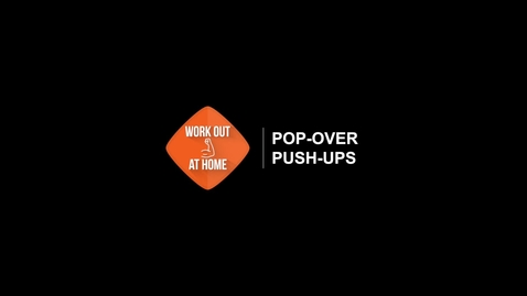Thumbnail for entry Pop-over Push-ups