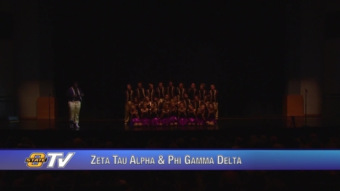 Thumbnail for entry Freshman Follies 2017:  Zeta Tau Alpha & Phi Gamma Delta