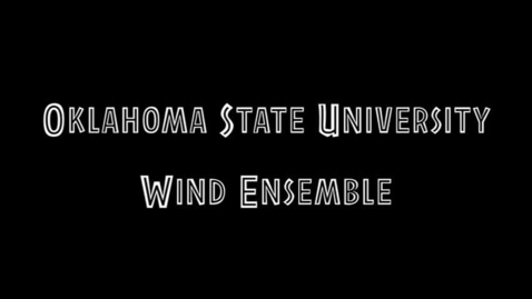 Thumbnail for entry OSU Wind Ensemble Performs in Japan