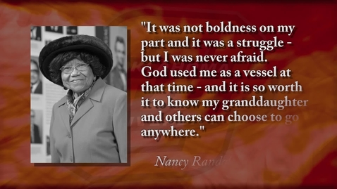 Thumbnail for entry Nancy Randolph Davis - 2018 OSU Hall of Fame