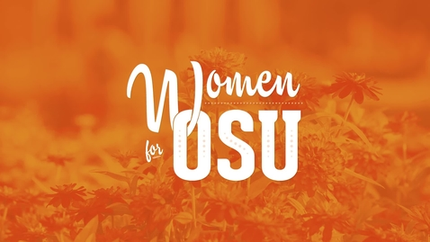 Thumbnail for entry 2017 Women For OSU Philanthropist of the Year: Linda Cline