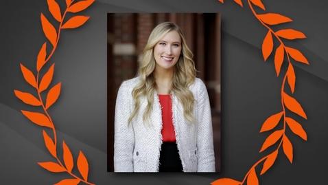 Thumbnail for entry Emily Fry - 2019 OSU Outstanding Senior